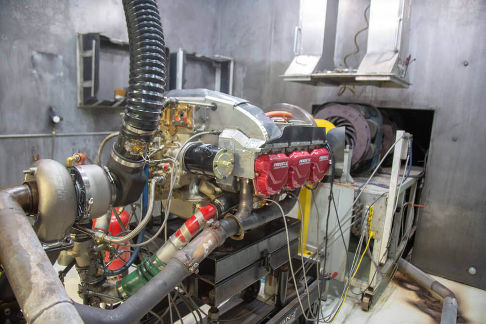 Pinnacle Aircraft Engine Working